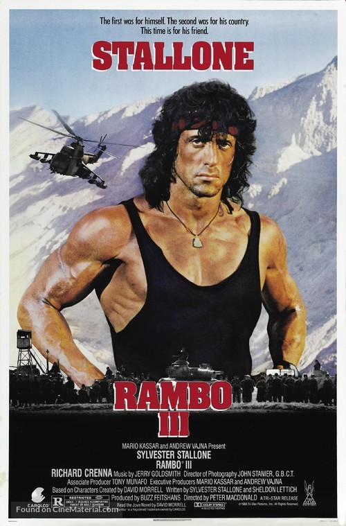 Rambo III - Movie Poster