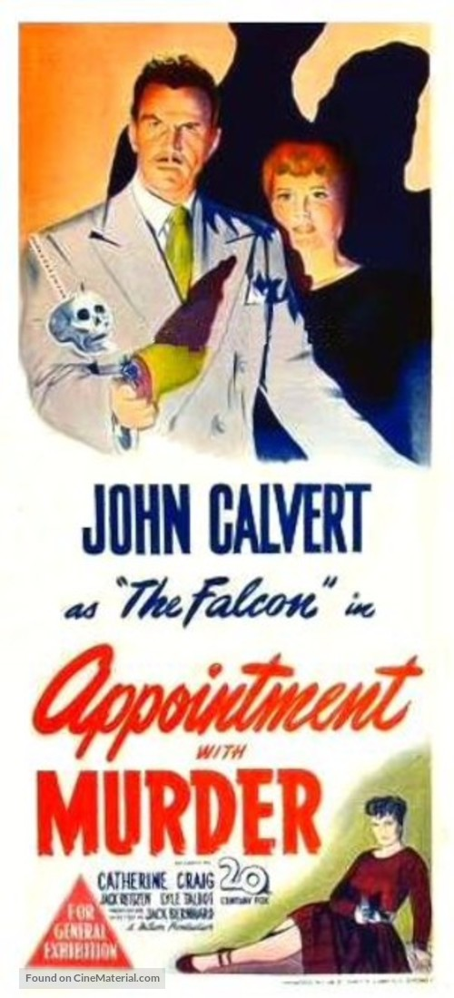 Appointment with Murder - Australian Movie Poster