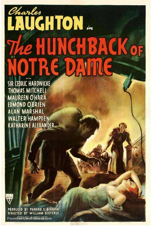 The Hunchback of Notre Dame - Movie Poster