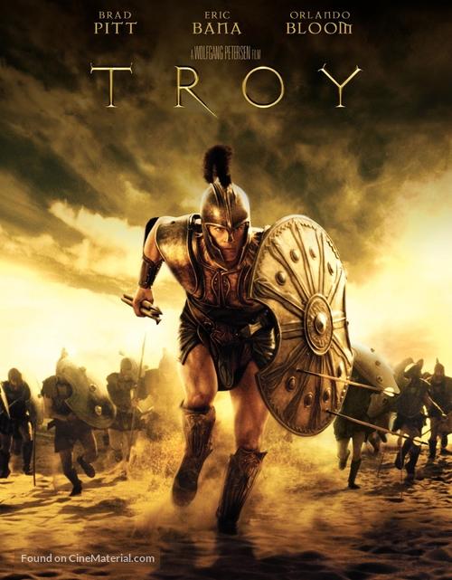 Troy - Blu-Ray movie cover