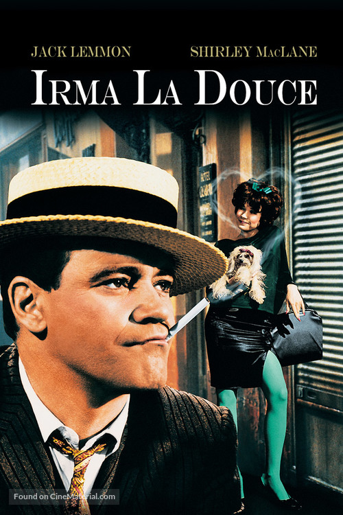 Irma la Douce - DVD movie cover
