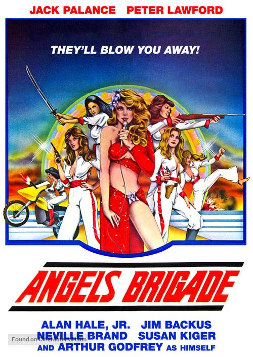 Angels' Brigade - HD-DVD movie cover