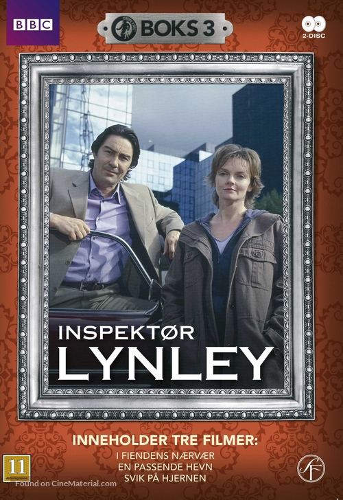 """The Inspector Lynley Mysteries"" - Danish DVD movie cover"