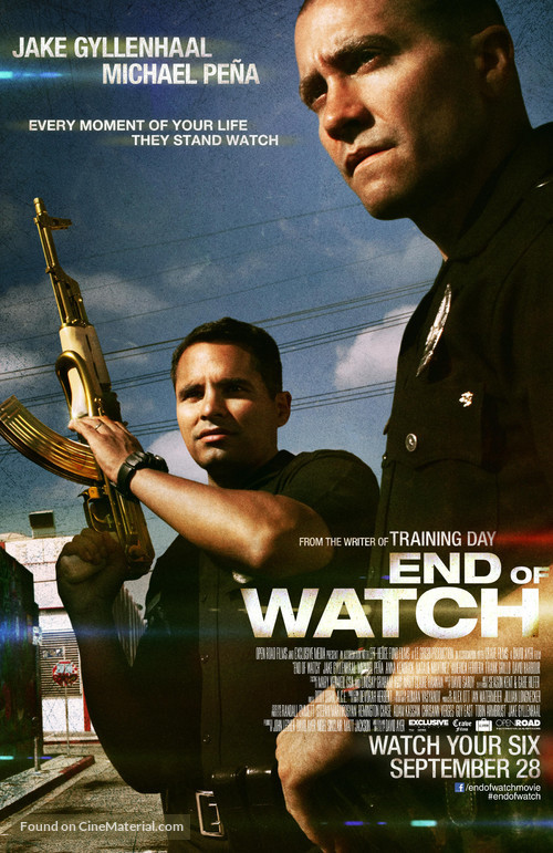 End of Watch - Movie Poster