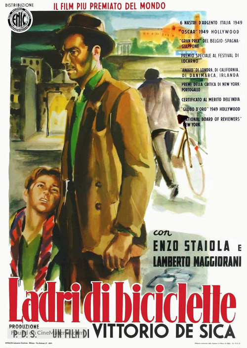 Ladri di biciclette - Italian Movie Poster