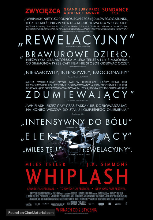 Whiplash - Polish Movie Poster