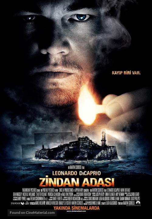 Shutter Island - Turkish Movie Poster