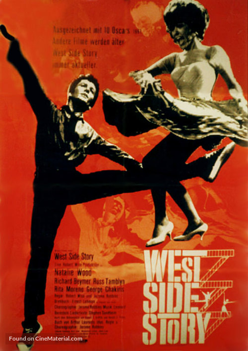 West Side Story - German Movie Poster