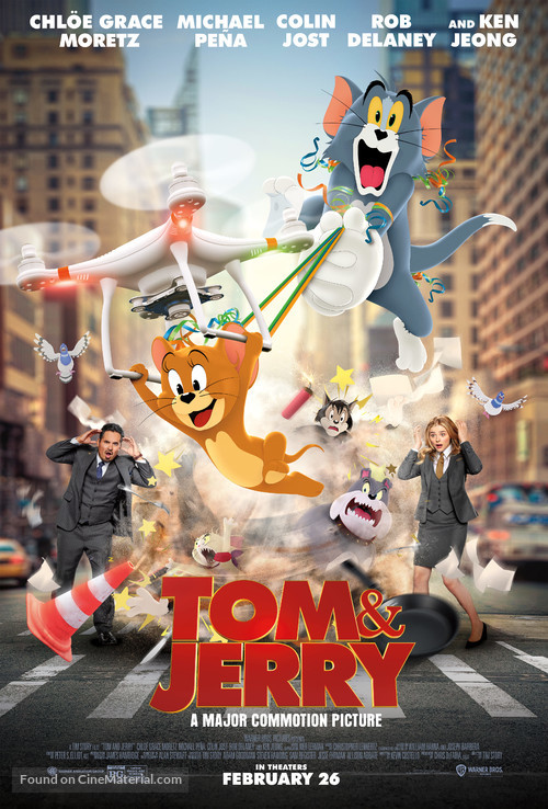 Tom and Jerry - Movie Poster