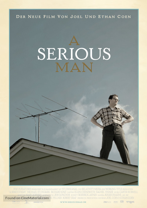 A Serious Man - German Movie Poster