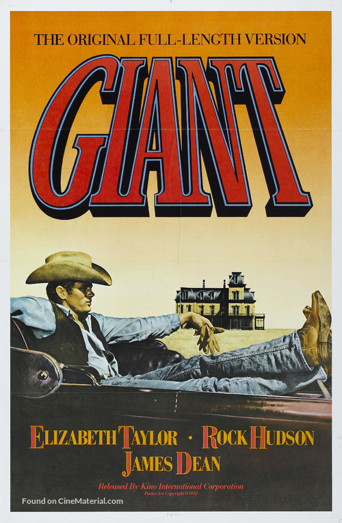 Giant - Re-release movie poster