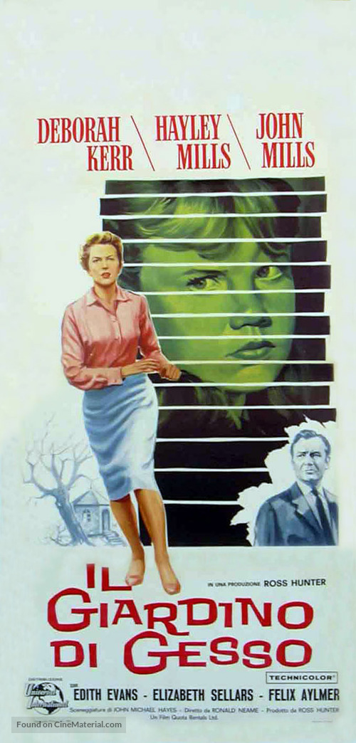 The Chalk Garden - Italian Movie Poster
