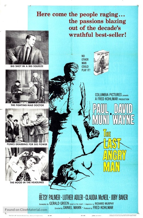 The Last Angry Man - Movie Poster