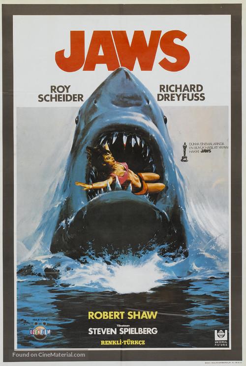 Jaws - Turkish Movie Poster