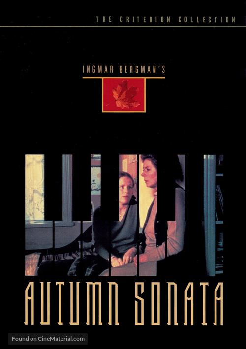 Höstsonaten - DVD movie cover