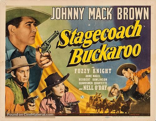 Stagecoach Buckaroo - Movie Poster