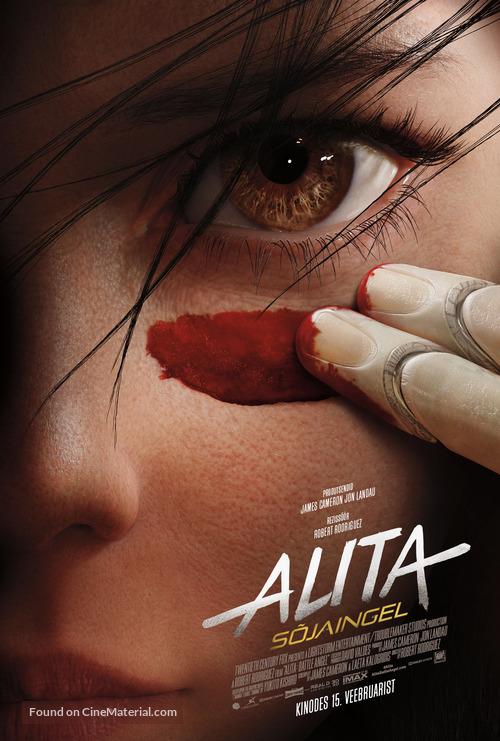 Alita: Battle Angel - Estonian Movie Poster