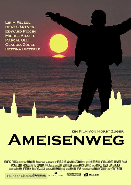 Ameisenweg - Swiss poster