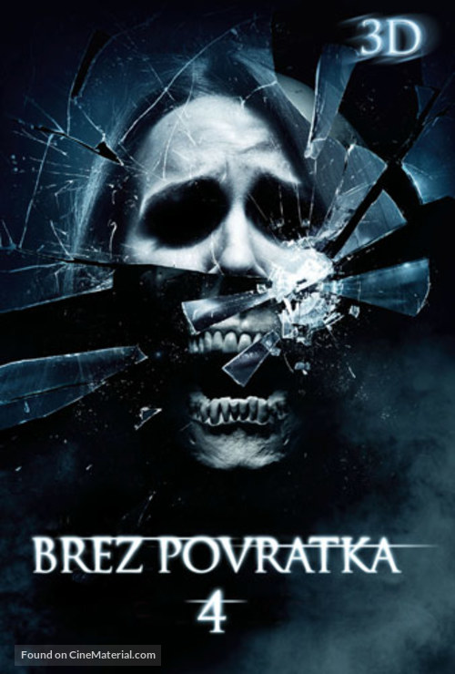 The Final Destination - Slovenian Movie Poster
