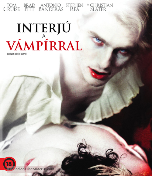 Interview With The Vampire - Hungarian Blu-Ray movie cover