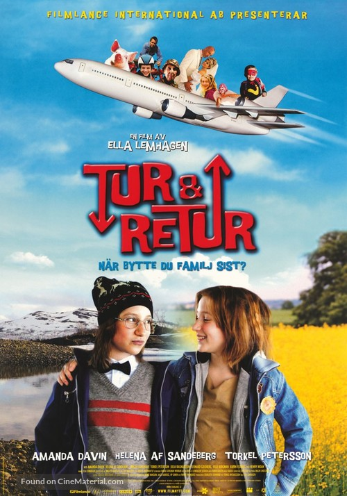 Tur & retur - Swedish Movie Poster