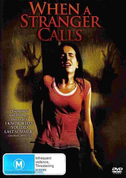 When A Stranger Calls Australian Movie Cover