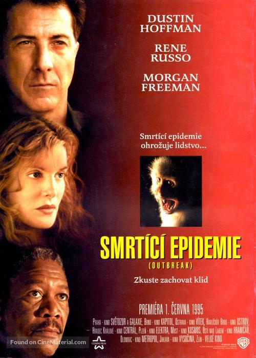 Outbreak - Czech Movie Poster