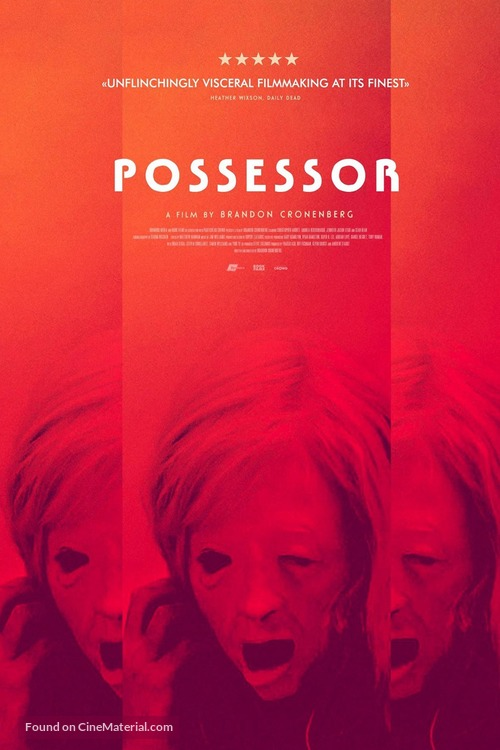 Possessor - British Movie Poster