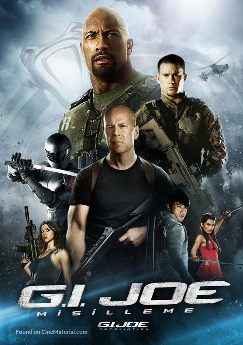 G.I. Joe: Retaliation - Turkish Movie Cover