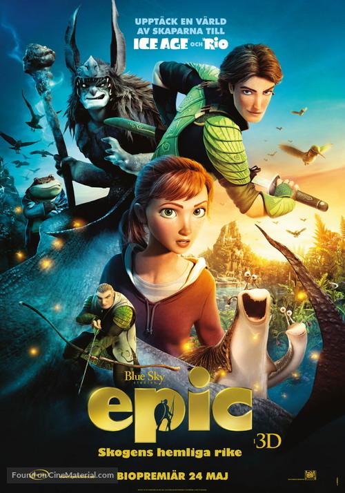 Epic - Swedish Movie Poster
