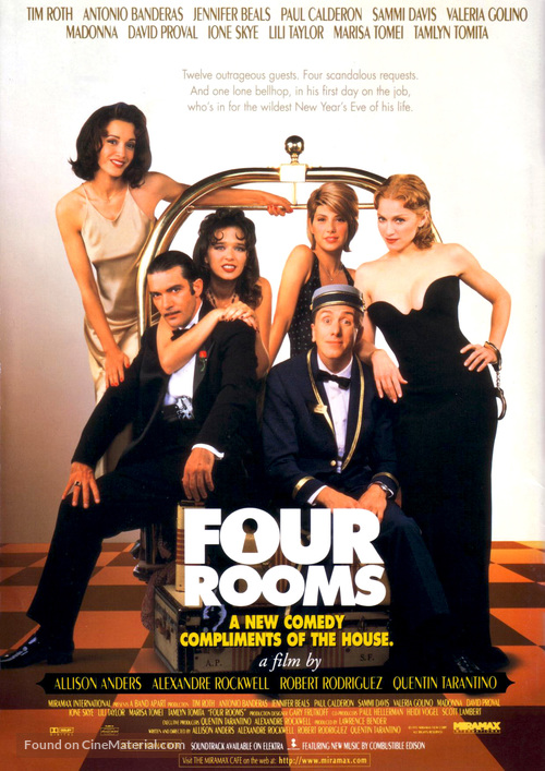 Four Rooms - Movie Poster