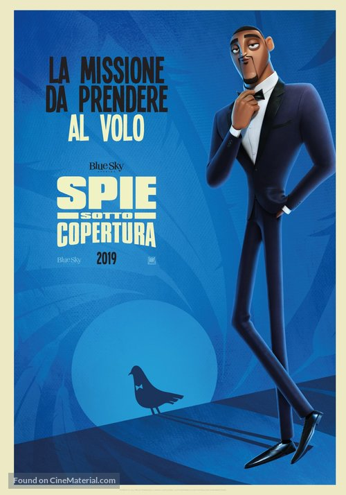 Spies in Disguise - Italian Movie Poster