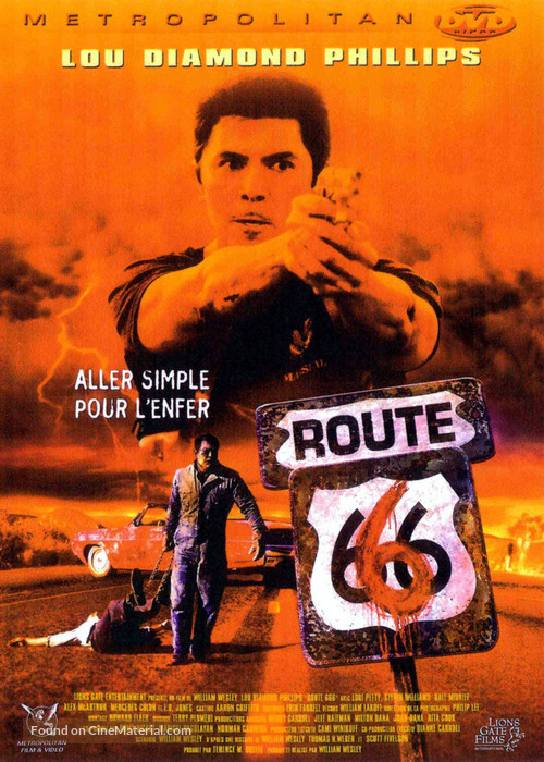 Route 666 - French DVD movie cover