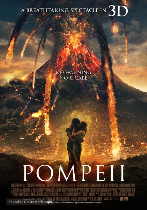 Pompeii - Belgian Movie Poster
