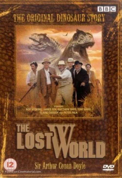 The Lost World - British DVD cover
