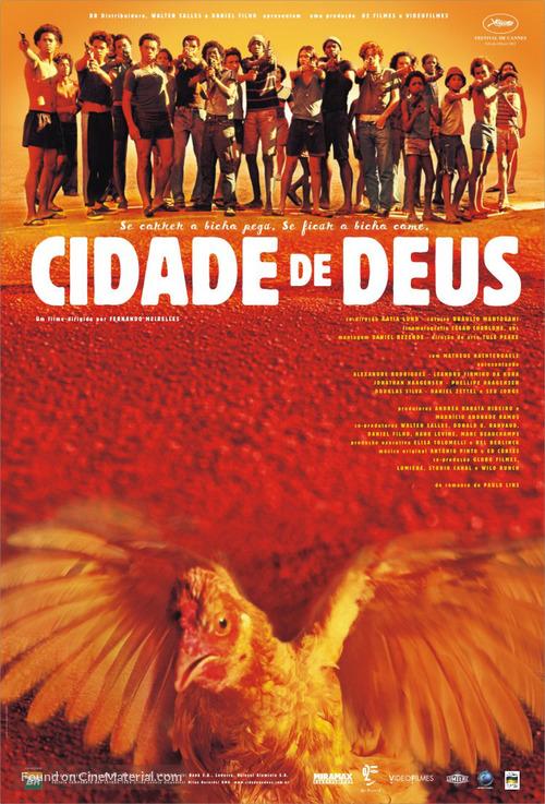 Cidade de Deus - Brazilian Movie Poster