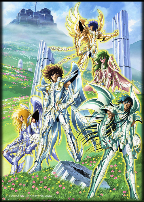 """Saint Seiya"" - Japanese Key art"