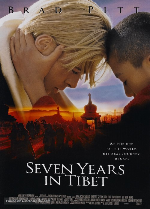 Seven Years In Tibet - Movie Poster