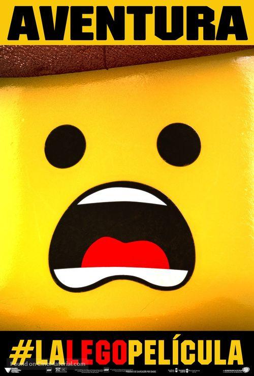 The Lego Movie - Spanish Movie Poster