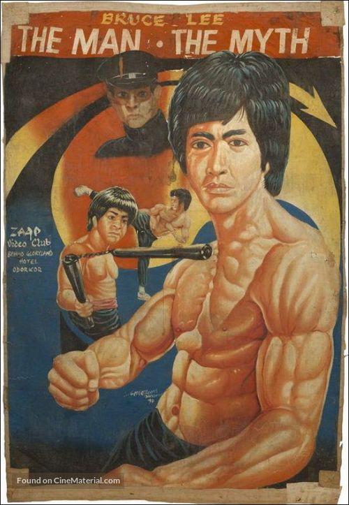 Li Hsiao Lung chuan chi - Ghanian Movie Poster