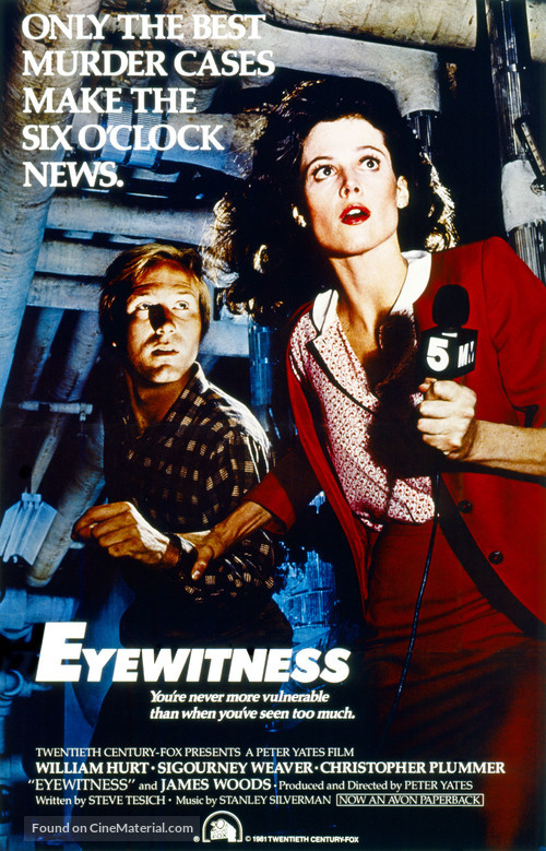 Eyewitness - Movie Poster