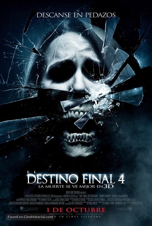 The Final Destination - Chilean Movie Poster