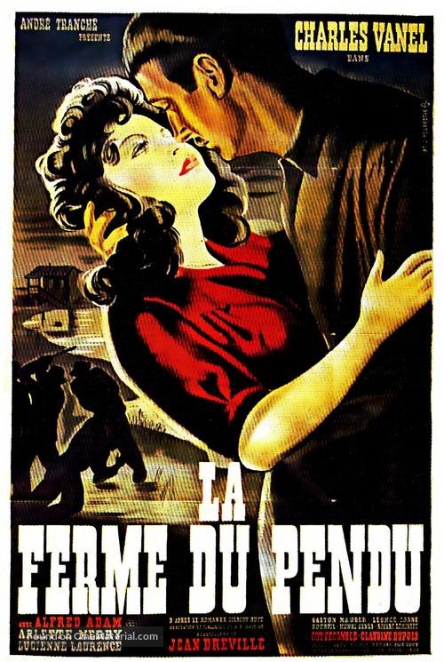 La ferme du pendu - French Movie Poster