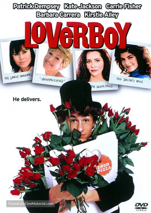 Loverboy - DVD movie cover