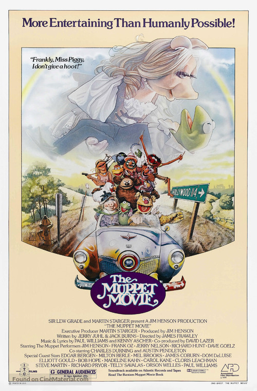 The Muppet Movie - Movie Poster
