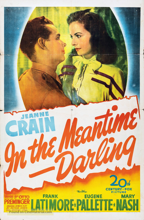 In the Meantime, Darling - Movie Poster