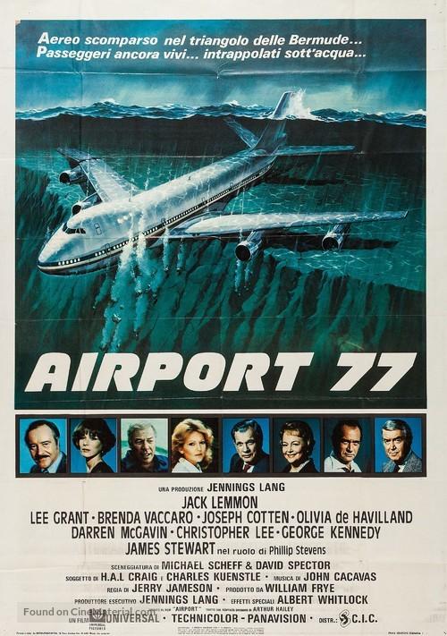 Airport '77 - Italian Movie Poster