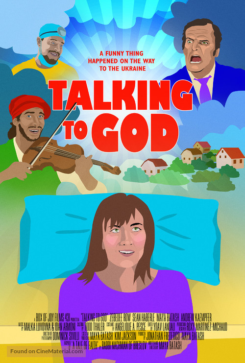 Talking to God - Movie Poster