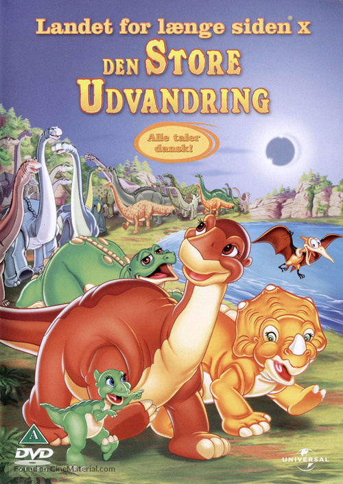 The Land Before Time X: The Great Longneck Migration - Danish DVD movie cover