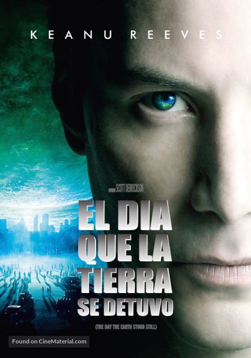 The Day the Earth Stood Still - Argentinian Movie Cover